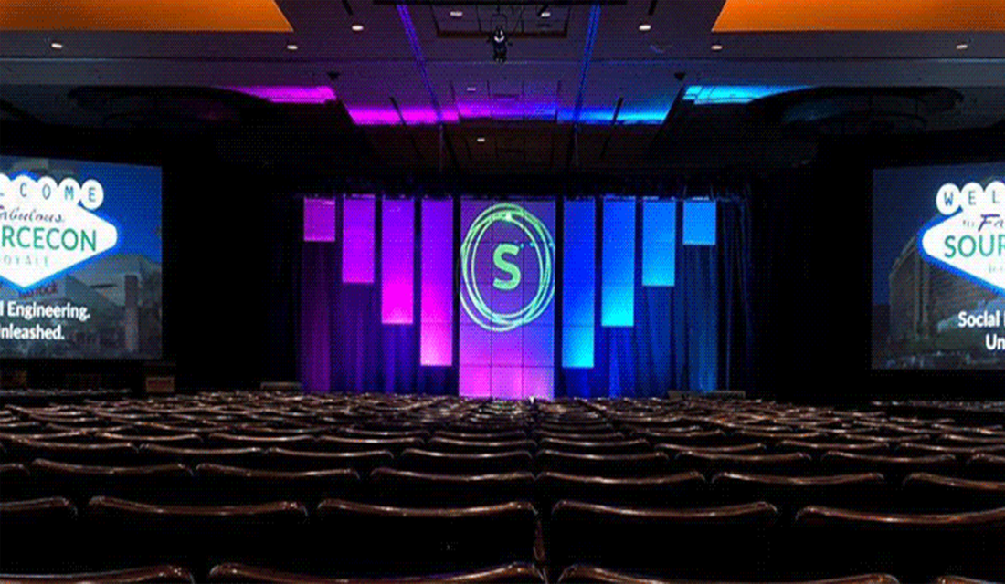 Spring SourceCon 2018 stage set-up